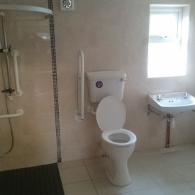 Disabled shower/wet rooms